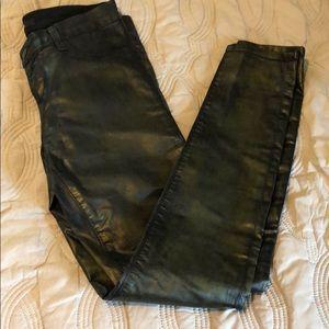 J Brand coated skinny jeans
